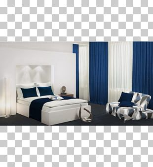 Curtain Window Blinds & Shades Light Blue Bed PNG