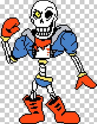 Undertale Sprite Papyrus PNG, Clipart, Art, Cartoon, Digital