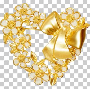 Brooch Jewellery Gold Ring Gemstone PNG