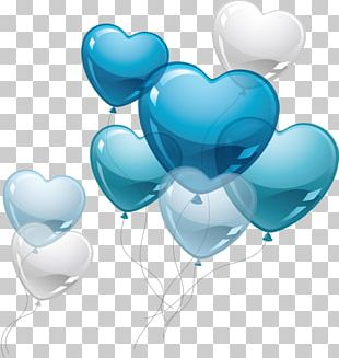 Heart Valentines Day Balloon PNG