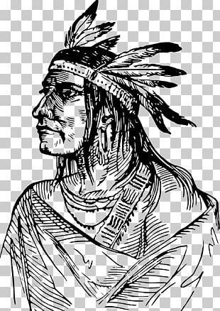 Native Americans In The United States Tribal Chief Tribe Shawnee PNG