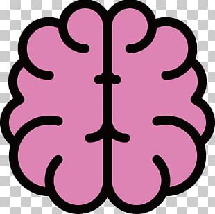 Outline Of The Human Brain Icon PNG
