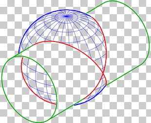 Sphere Curve Line Point Intersection PNG