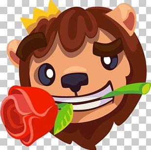 Sticker Telegram VKontakte Leo The Lion PNG