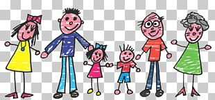 We Are Family Father Grandparent Child PNG