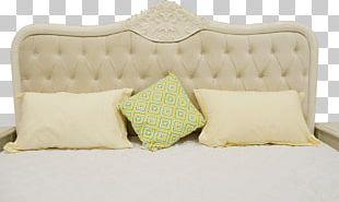 Bed Frame Mattress Pillow PNG