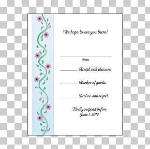 Wedding Invitation Paper Party Convite PNG