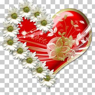 Heart Floral Design Vinegar Valentines Valentine's Day PNG