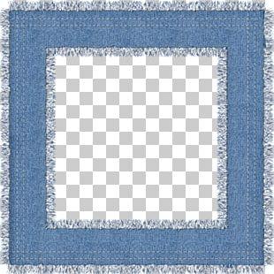 Frame Blue PNG