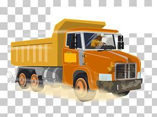 Pickup Truck Dump Truck Car PNG