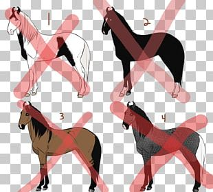 Dog Horse Pink M Shoe PNG