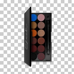 Eye Shadow Cosmetics Color Palette Smokey Eyes PNG