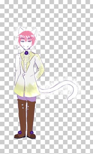 Mammal Costume Pink M Character PNG