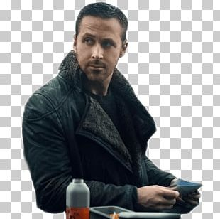 Ryan Gosling Blade Runner 2049 Officer K Leather Fake Fur PNG