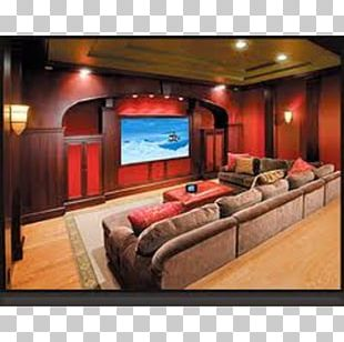 Home Theater Systems Cinema Interior Design Services Room PNG