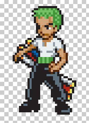 Roronoa Zoro Monkey D. Luffy Vinsmoke Sanji Zorro Pixel Art PNG