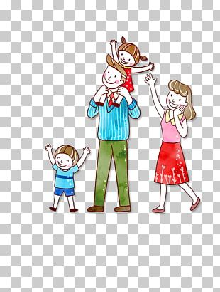 Family Cartoon PNG