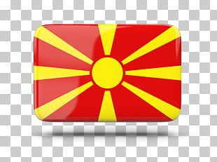 Flag Of The Republic Of Macedonia Stock Photography PNG