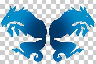 Seahorse Illustration Logo Character PNG