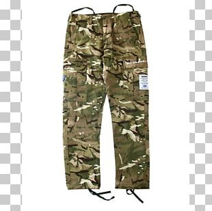 Cargo Pants Khaki Military Camouflage PNG