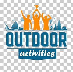 Outdoor Recreation Fishing Hiking Camping Logo PNG