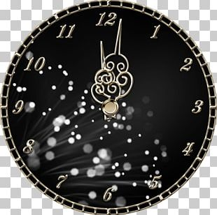 Clock New Years Eve Midnight PNG