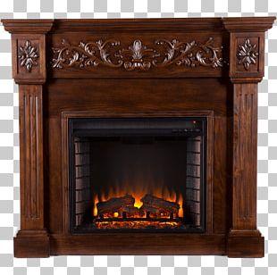 Electric Fireplace Fireplace Mantel Fire Screen Firebox PNG