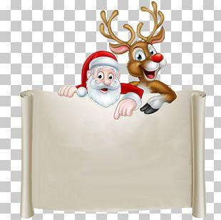 Santa Claus's Reindeer Rudolph Santa Claus's Reindeer Christmas PNG