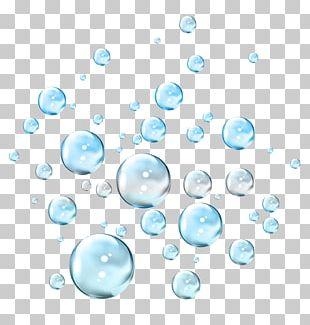 Soap Bubble Blue Drop PNG