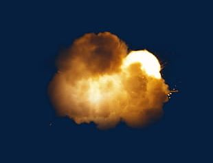 Explode The Luminous Particles Of Dust PNG