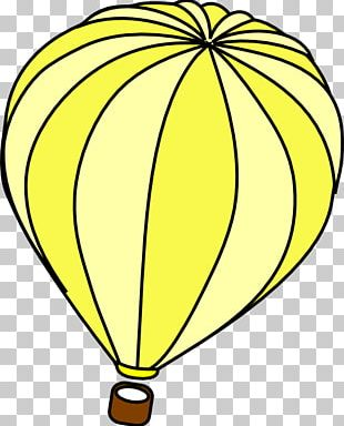 Hot Air Balloon Open Illustration PNG
