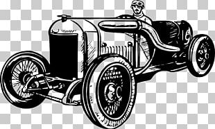 Vintage Car Classic Car Auto Racing Antique Car PNG