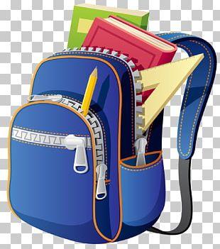Backpack School Bag PNG