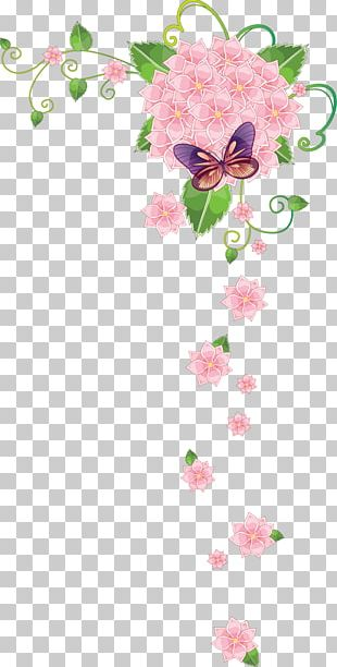 Borders And Frames Flower Stock Photography PNG