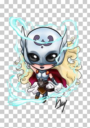 Thor Jane Foster Loki Drawing Marvel Comics PNG