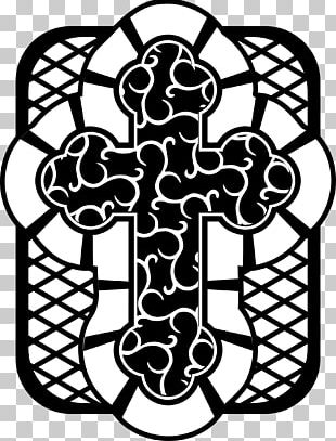 Celtic Cross Drawing PNG