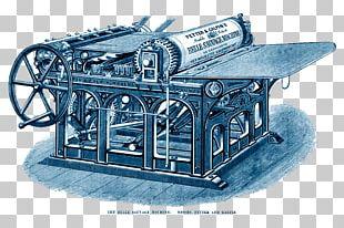 Printing Press Letterpress Printing Publishing PNG
