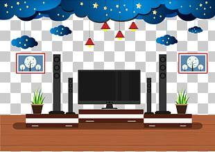 Living Room Adobe Illustrator PNG