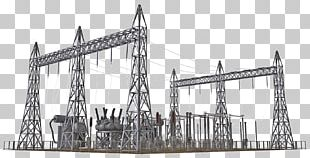 Electrical Substation Electricity Architectural Engineering Architectural Structure Electric Power Industry PNG
