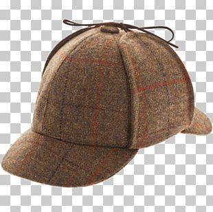 Sherlock Holmes Top Hat Deerstalker Cap PNG