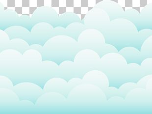 Sky Cloud Drawing Blue PNG