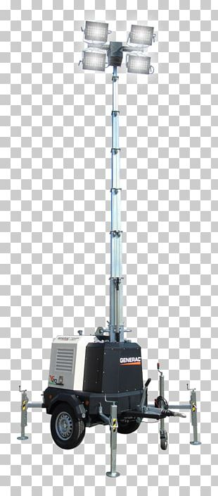 Light Tower Electric Generator High-mast Lighting PNG