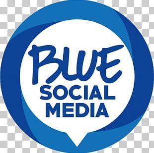 Digital Marketing Blue Social Media Logo PNG