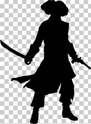 Piracy Silhouette PNG