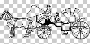 Horse-drawn Vehicle Carriage Barouche PNG