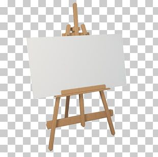 Easel Painting Canvas Drawing Art PNG
