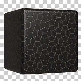 Wallet Black M Pattern PNG
