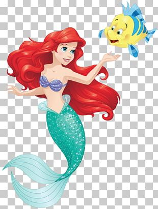 Ariel Sebastian Belle The Little Mermaid PNG