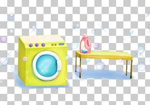 Laundry Detergent Clothing Washing Machine Woman PNG