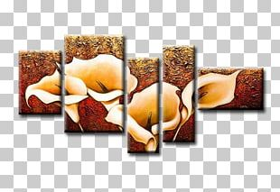 Oil Painting Art Canvas Gallery Wrap PNG